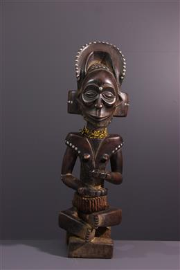 Art africain - Figure de chef Tschokwe Chibinda Ilunga
