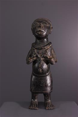 Bronze Bénin - Art africain