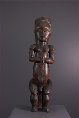 Figure d ancêtre Fang Ntumu du Byeri