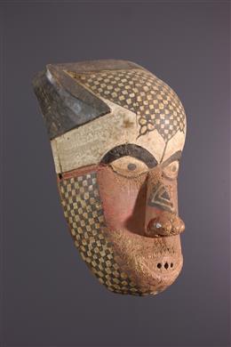Art africain - Masque Kuba / Nkutshu