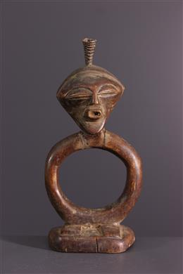 Art africain - Oracle de divination Luba / Songye Katatora