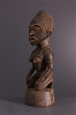 Art africain - Figure féminine Kongo Yombe Phemba