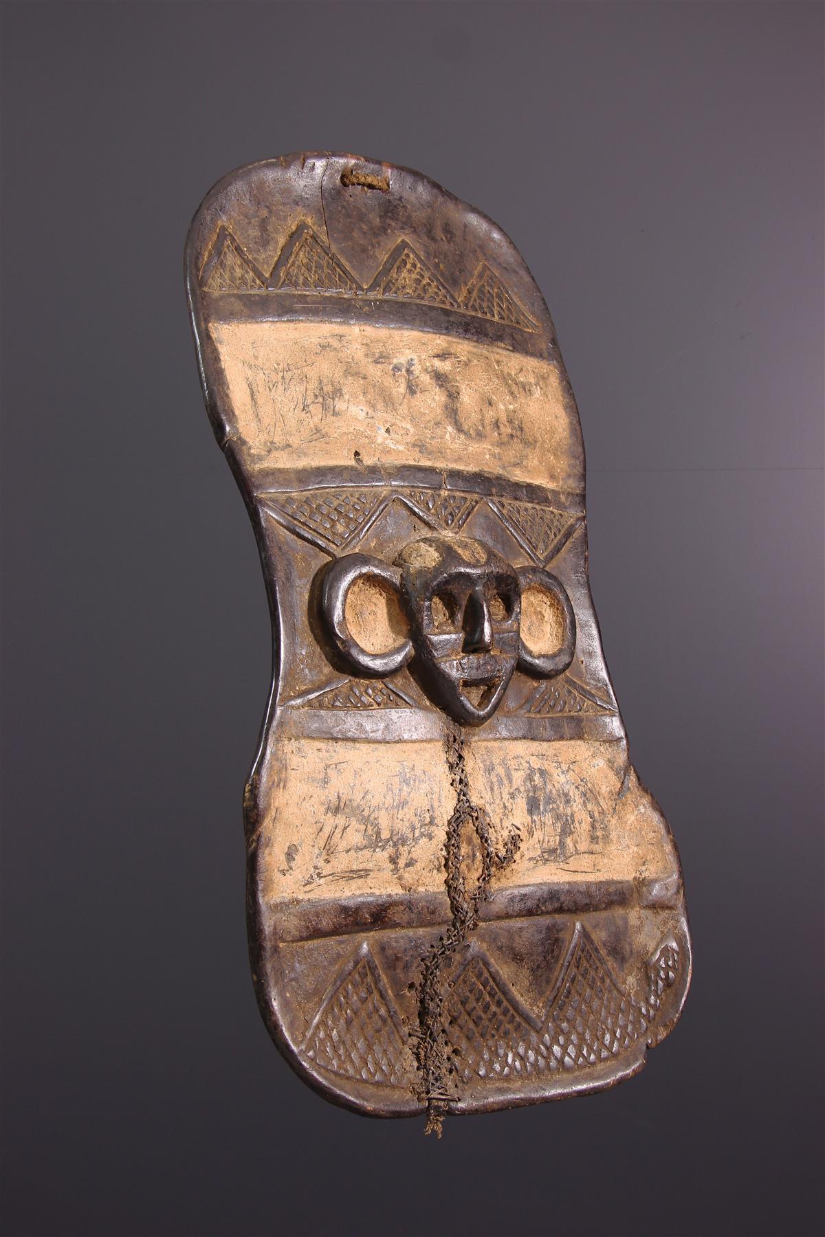 Bouclier Boa - Art africain