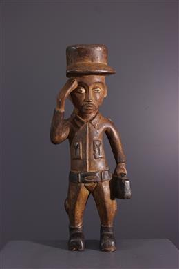 Statuette de colon Kongo