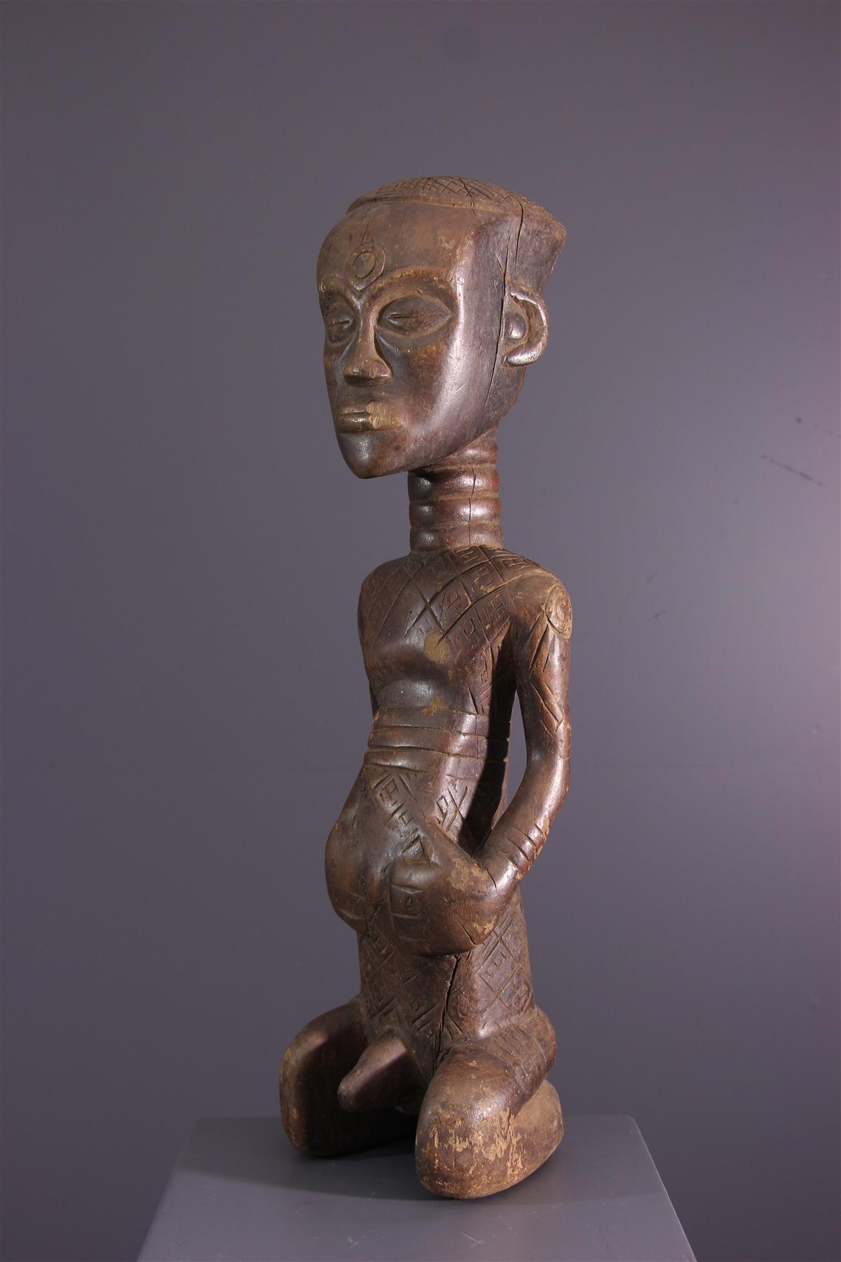 Statue Dengese - Art africain