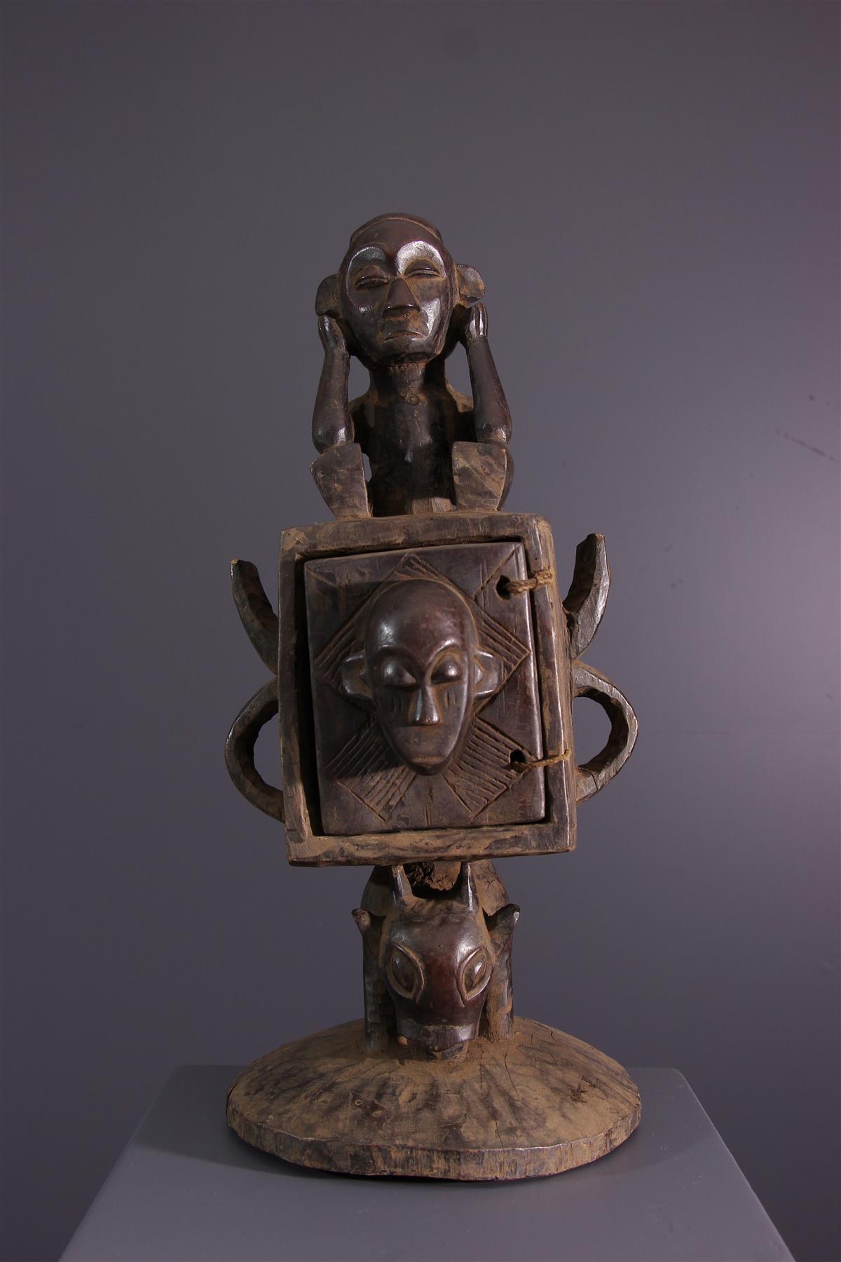 Boîte Tschokwe - Art africain