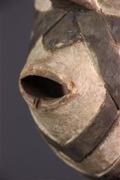 Masque africainMasque Zimba