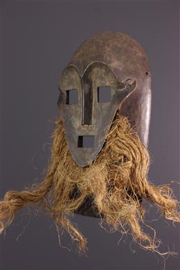 Art africain - Masque Kumu, Komo, Nsembu