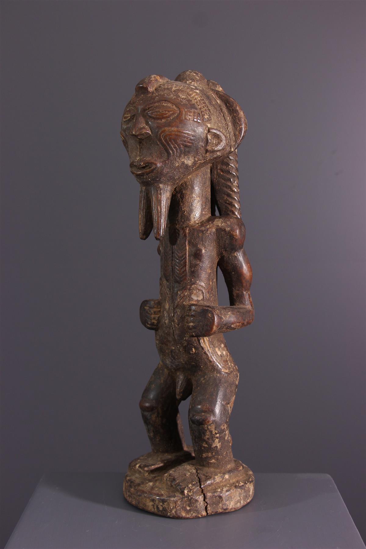 Statue Lulua - Art africain