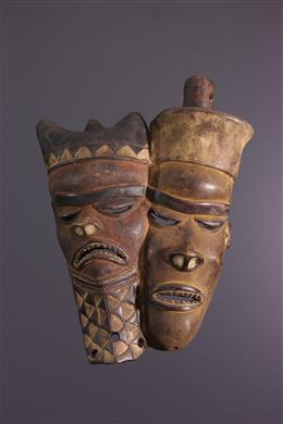 Art africain - Masque double Pende