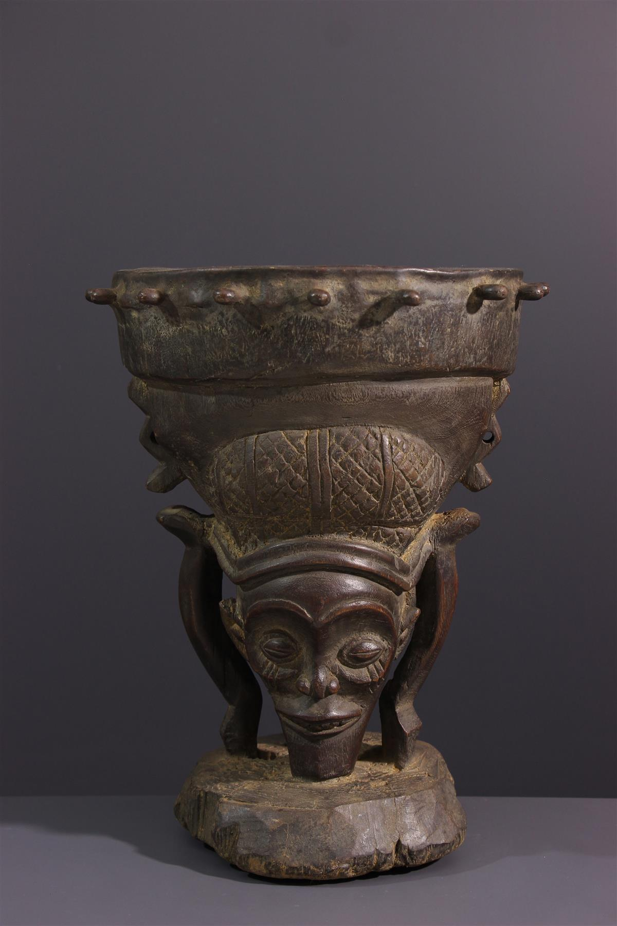 Tambour Chokwe - Art africain