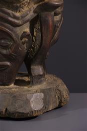 Instruments de musique, harpes, djembe Tam TamTambour Chokwe