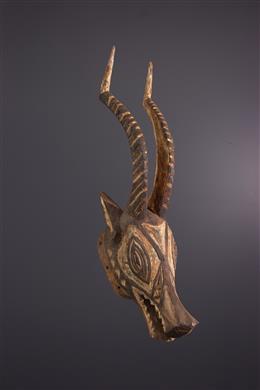 Art africain - Masque animalier Gurunsi