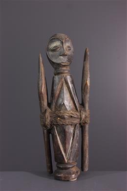 Art africain - Statuette dinitiation Lega du Bwami
