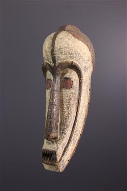 Art africain - Grand masque heaume Fang du Ngil