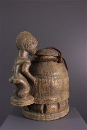 Pots, jarres, callebasses, urnesBoite à divination