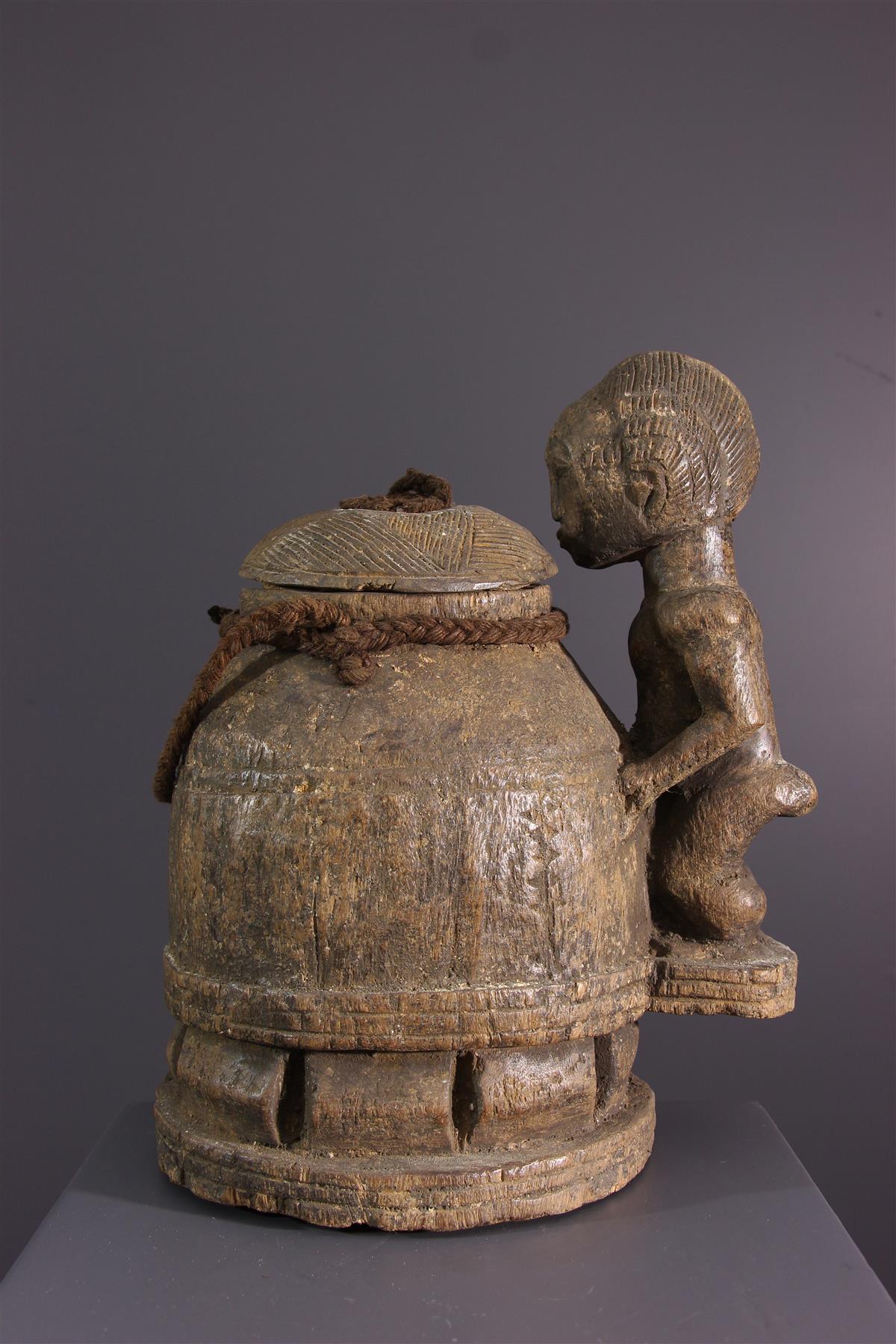 Boite à divination - Art africain