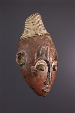 Art africain - Masque Mangbetu