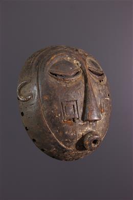 Art africain - Masque Luba Mukisi a kukaya
