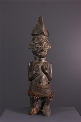 Art africain - Statuette Yaka Yiteke