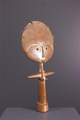 Art africain - Poupée Ashanti Akua ba du Ghana