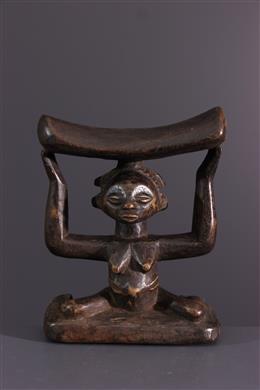Art africain - Appui-nuque Luba Shankadi