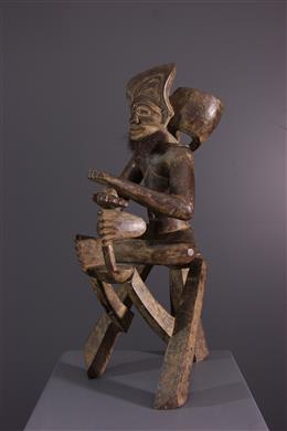 Art africain - Figure dancêtre Tschokwe Chibinda Ilunga