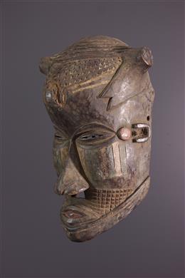 Art africain - Masque Kuba Bushoong Bwoom