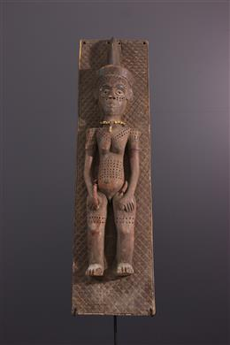 Art africain - Panneau figuratif Pende du Kasaï