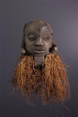 Masque Luba Mukisi a Kukaya - Art africain