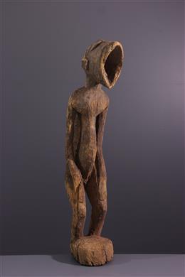 Figure de singe Amuin Baule, Baoulé