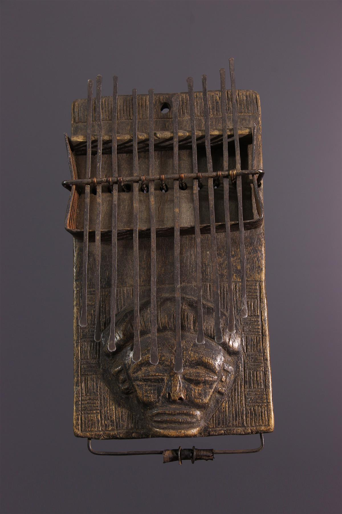 Lamellophone Chokwe - Art africain