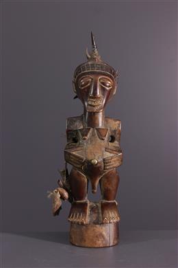 Art africain - Statuette fétiche Nkisi des Songye