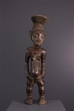 Statue Nebeli Mangbetu - Art africain