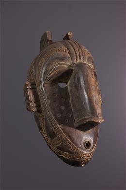 Art africain - Masque facial Baga
