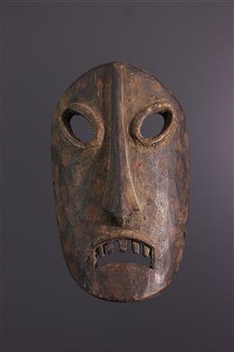 Art africain - Masque Kumu, Komo