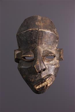 "Art africain - Masquette Pende Nsembu ""malade"""