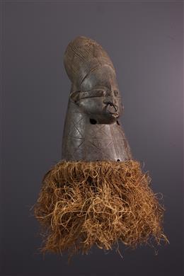 Masque Mangbetu - Art africain