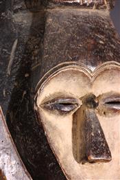 Masque africainMasque Kwele