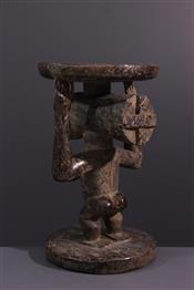 Tabourets, chaises, trônesTabouret Luba Kipona