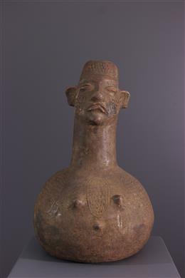 Jarre figurative Mangbetu