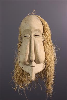 Art africain - Masque Suku Kakungu