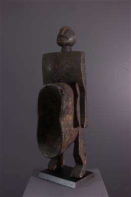 Art africain - Statue coupe figurative Gbene Koro