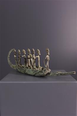 Pirogue Dogon - Art africain