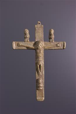 Crucifix Kongo - Art africain
