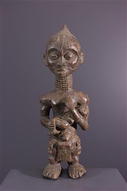 Art africain - Maternité Lulua