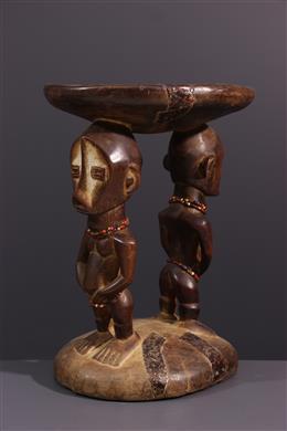Tabouret Ngala - Art africain
