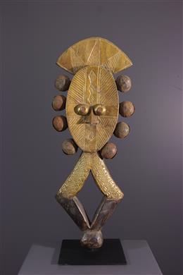 Figure de Reliquaire Kota Mbulu-Ngulu