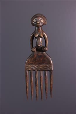 Peigne Luba - Art africain