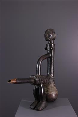 Pipe Tabwa - Art africain